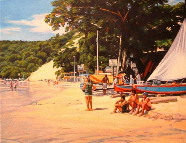 Natal Beach, Brazil (16x20 inches)