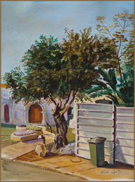 Olive Tree (8x11 inches)