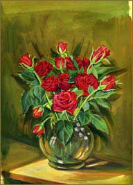 Red Roses (8x11 inches)
